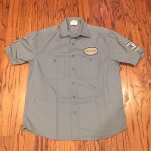 Grumpy's Gas & Grease Button Down Shirt
